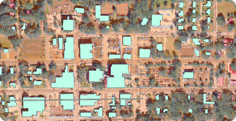 LP360 extracting buildings from LIDAR data