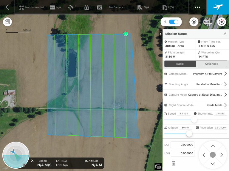 DJI Ground Station Pro software makes flying your 3D mapping mission incredibly efficient.