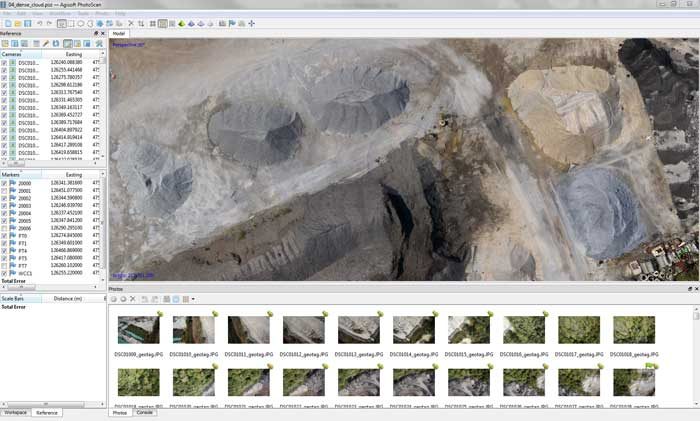 Agisoft Metashape Screen Capture