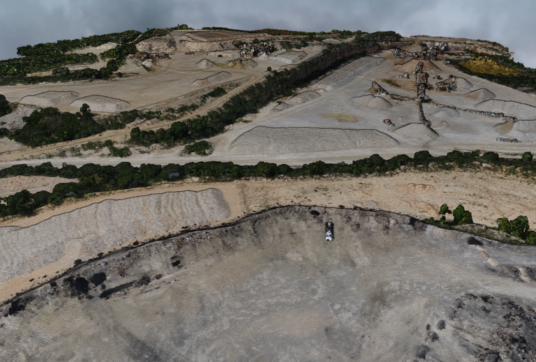 Reckon Data Management Portal 3D Mine Site View