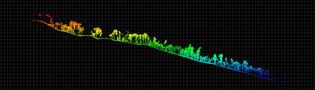 Ground Classification LIDAR Dataset High Vertical Relief Project