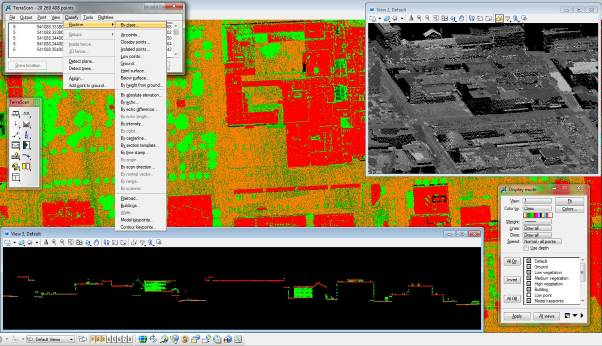 TerraScan Process raw airborne or terrestrial scanned laser data.
