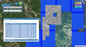 Lidar drone imagery data management