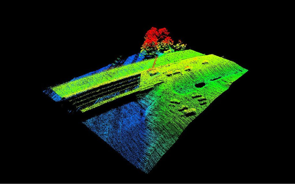 LIDAR Data of SCDOT Bridge Construction - RSI