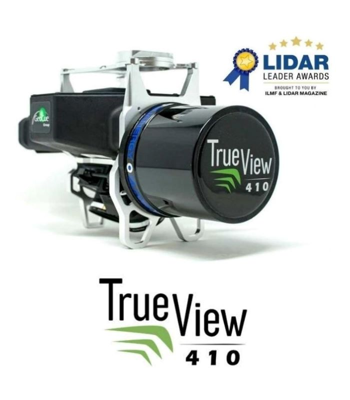 True View 410 Mapping Sensor With Logo